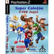 Super Coleção 7.784 Games Históricos Para Playstation 2