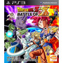 Dragon Ball Z Battle Of Z Original Lacrado Ps3 Mídia Física