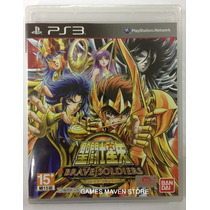 Ps3 Saint Seiya Brave Soldiers Japanese Cavaleiros Do Zodiac