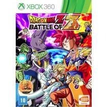 Dragon Ball Z Battle Of Z + Dlc - Xbox 360 Novo