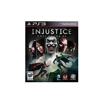 Injustice Ultimae Edition Ps3 Dublado Pt Br Código Psn