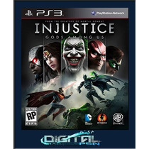 Injustice Ultimate Edition Dublado Em Português Código Psn