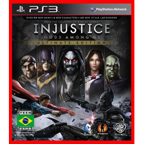 Injustice Gods Among Us Ultimate Edition Ps3 Psn Portugues
