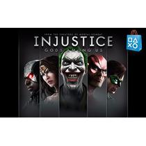 Injustice Gods Among Us + All Stars Battle Royale Ps3 Psn