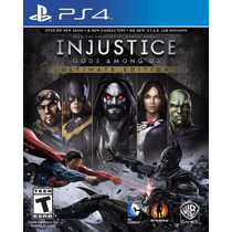 Injustice Gods Among Us Ultimate Edition Ps4 Pt - Secundaria