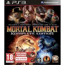 Mortal Kombat Komplete Edition - Ps3 (novo Lacrado)