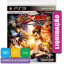 Street Fighter X Tekken Ps3 + Bônus Personagens Exclusivos