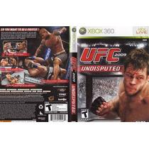 Ufc Undisputed 2009 P/ Xbox 360 Original Frete R$7,00