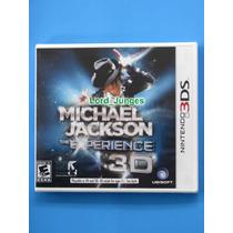 Michael Jackson The Experience 3d - Nintendo 3ds - Lacrado.