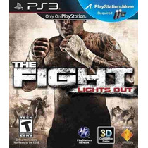 Jogo The Fight Lights Out Ps3 Move Novo Original Lacrado Ps3