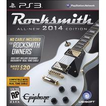 Rocksmith 2014 Cabo Não Incluso Edition Ps3 - Playstation 3