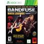 Box Bandfuse Rock Legends Para Xbox 360 Ntsc Jogo + Cabo