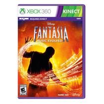 Jogo Novo Disney Fantasia Music Evolved Para Xbox 360 Kinect