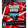 Guitar Hero Van Halen Ps3 Lacrado, Envio Sedex Acobrar