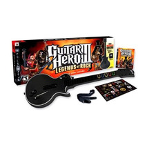 Guitar Hero 3 Ps3 + Guitarra Bundle Playstation 3 Original