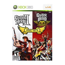 Guitar Hero Dual Pack Jogo Para Xbox 360 - Jogue No Controle