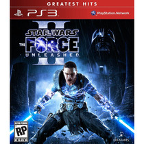 Star Wars The Force Unleashed Ii 2 - Ps3 - R1 - Lacrado