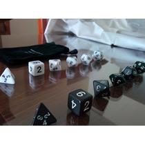 Dados Rpg Kit Com 6 Dados Dungeons & Dragons Daggerdale