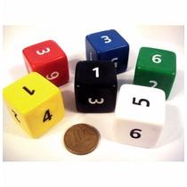 Dado De 6 Faces - D6 D&d Rpg Magic Board Game Tabuleiro