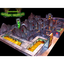 Cenário - Gothic Realms P/ Rpg, Wargame, Tabuleiro, Mage K.