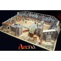 Cenário Arena De Batalha P/ Rpg, Wargame, Tabuleiros, Mage K