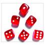 Dados Matemáticos Com 06 Unidades / Envio Imediato*