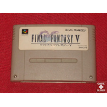 Final Fantasy 5 - Original Nintendo Super Famicom/snes