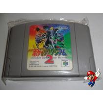 Pokemon Stadium 2 Japones Original 64