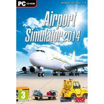 Airport Simulator 2014 Dvd-rom! Original E Lacrado!!!!