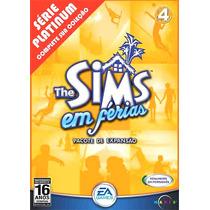The Sims Em Férias Pc Game Original Raridade Frete Grátis!!!