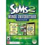Game Pc The Sims 2 Mundo Universitário - Original   Novo