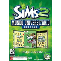 Game Pc The Sims 2 Mundo Universitário - Original | Novo