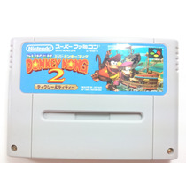 Cartucho Super Nintendo/famicom - Donkey Kong Country 2