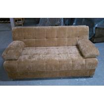 Sofa Cama Casal S/braço Novo Modelo 3
