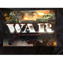 Jogo War - Edição Especial - Novo E Lacrado, Frete Grátis!