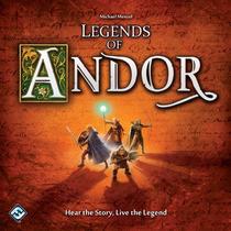 Legends Of Andor - Jogo De Tabuleiro Importado - Ffg - Novo!