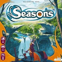 Seasons - Jogo Tabuleiro Importado - Asmodee - No Brasil