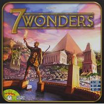 7 Wonders - Jogo De Tabuleiro Importado - Asmodee