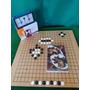 Jogo De Go Kit Especial Relogio+tabuleiro+pedras+livro