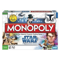 Banco Imobiliário Star Wars The Clone Wars Monopoly