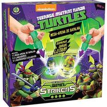 Spin Strikers Mega Arena De Batalha Tartaruga Ninjas - Dtc
