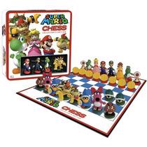 Jogo De Xadrez Super Mario Bros Personagens. Licenciado, Nfe
