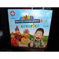 Jogo Banco Imobiliario Kids Cocoricó Incompleto Usado Estrel
