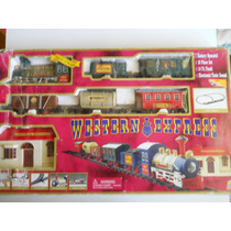 Locomotiva Western Express- Trem- Brinquedo- Completo- Impor