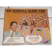 Só Compra Quem Tem - Jogo Silvio Santos - Anos 70 - Completo
