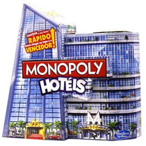 Jogo Monopoly Hotel Lançamento Hasbro-pronta Entrega