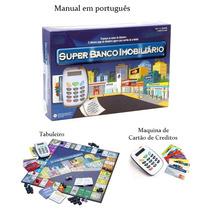 Jogo Super Banco Imobiliário Com Máquina De Cartão Bc Ecoop