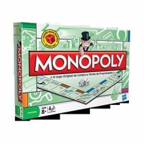 Jogo Monopoly Hasbro Com Peças De Metal