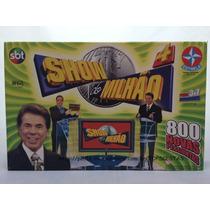Raríssimo! Antigo Jogo Show Do Milhão 4 Sbt Silvio Santos