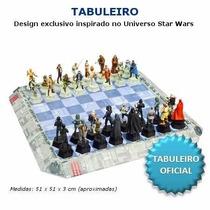 Tabuleiro Xadrez Star Wars Deagostini - Novo - Lacrado
